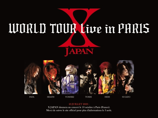 WORLD TOUR live in PARIS