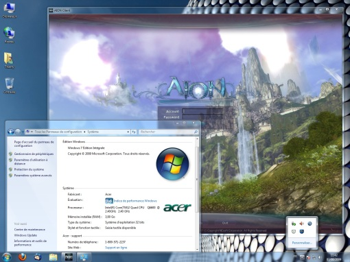 Aion on Win7